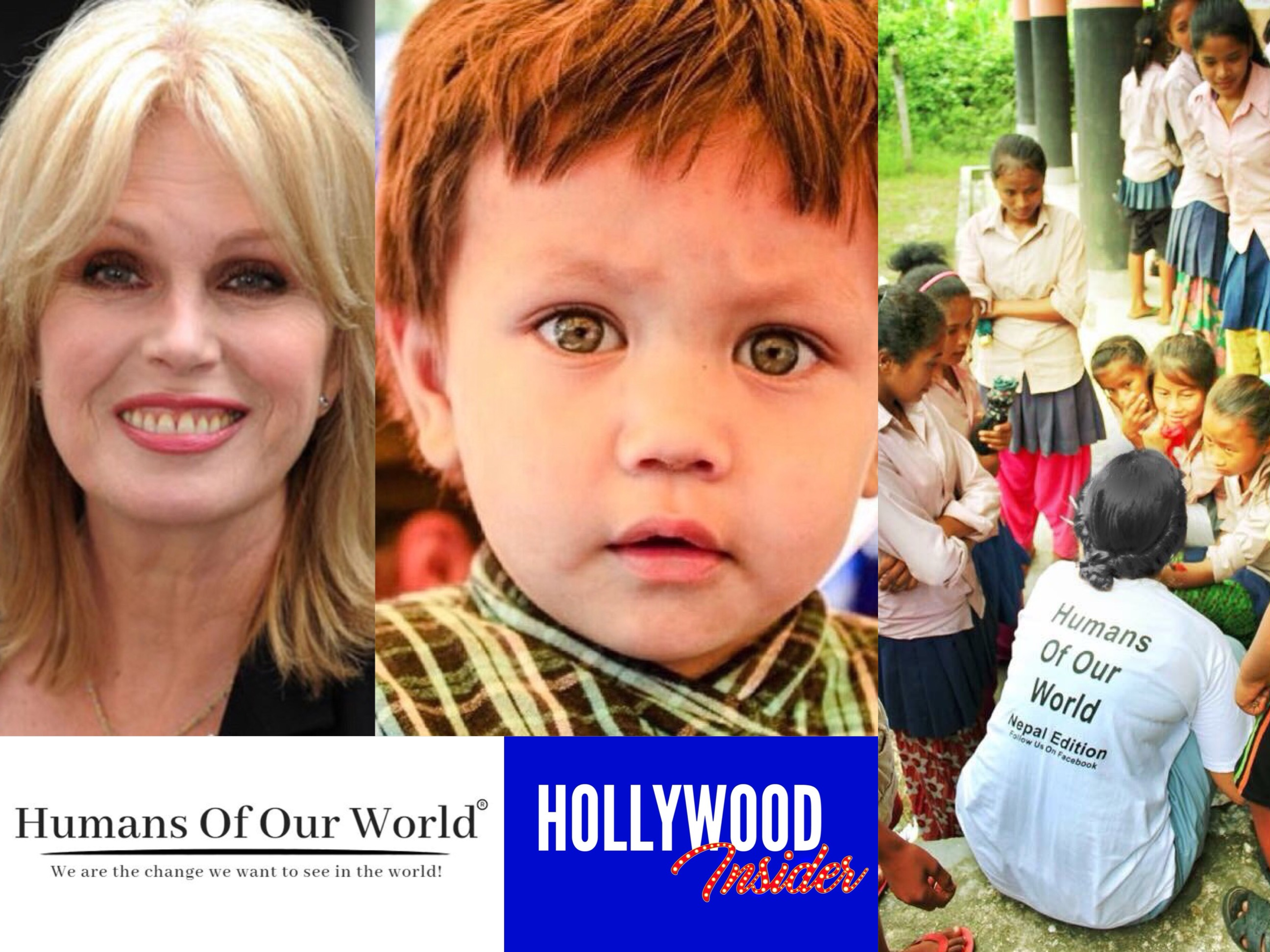 Joanna Lumley Asks All to Donate to 'Don't Forget Nepal's Victims' Campaign