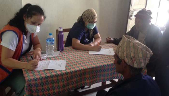 MHN conducted Health Camp at Dolakha in collaboration with Humans of Our World