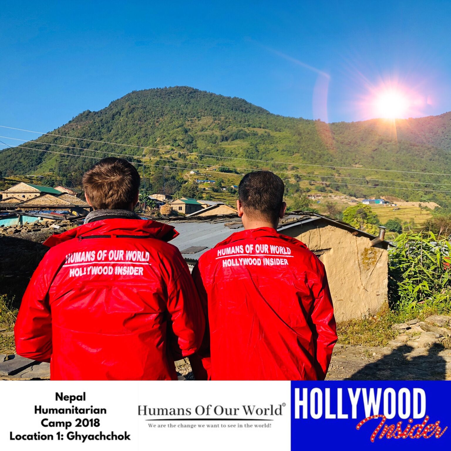 Humans Of Our World Team arrives at remote village known as Ghyachchok in Nepal